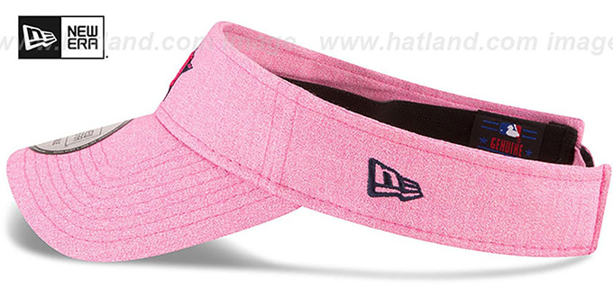 Astros '2018 MOTHERS DAY VISOR' Heather Pink by New Era