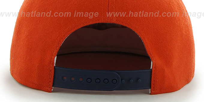 774a888d34307 ... Astros COOP  SURE-SHOT SNAPBACK  Orange-Navy Hat by Twins 47 Brand