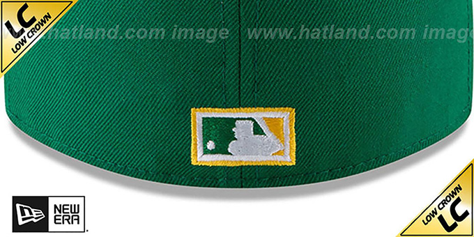 Athletics 'LOW-CROWN VINTAGE' Fitted Hat by New Era