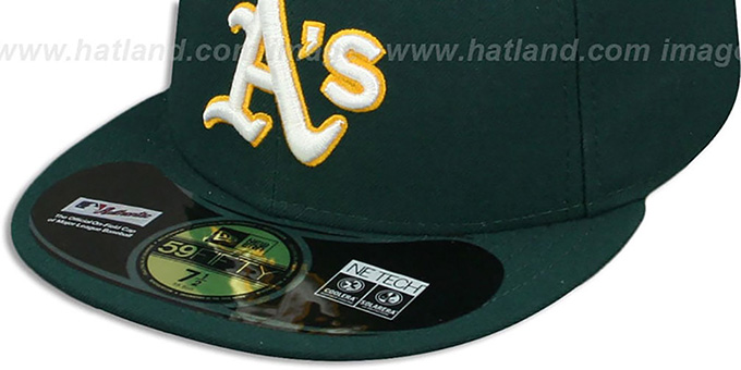 Athletics 'PERFORMANCE ROAD' Hat by New Era