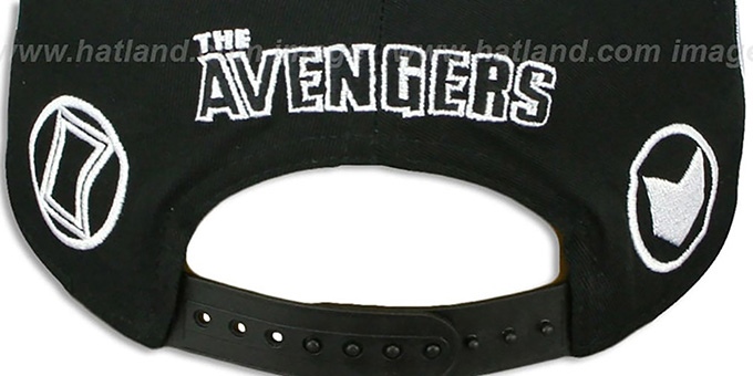 Avengers 'TOTAL-LOGO SNAPBACK' Black Hat by New Era