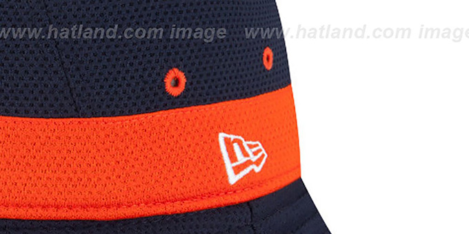 e11e6bb0795 Chicago Bears 2015 NFL TRAINING BUCKET Navy Hat by New Era