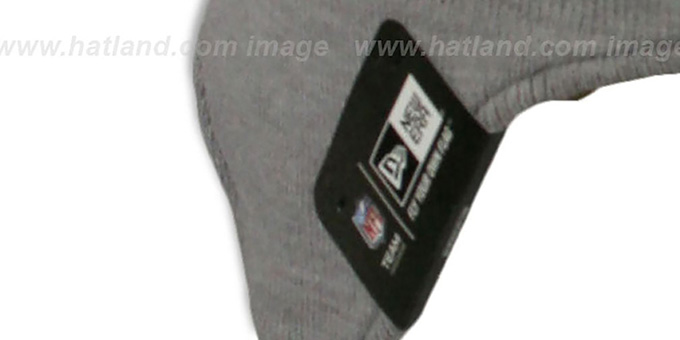 Bears 'GREY STRIPETOP' Knit Beanie Hat by New Era