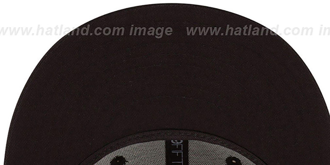 Bears 'NFL FADEOUT-BASIC' Black Fitted Hat by New Era