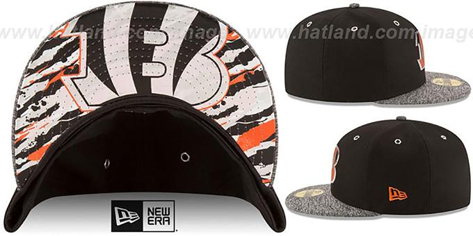 Cincinnati Bengals 2016 NFL DRAFT Fitted Hat by New Era e934c15d590