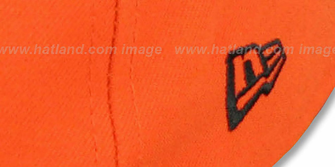 Bengals 'NFL 2T-TEAM-BASIC' Orange-Black Fitted Hat by New Era