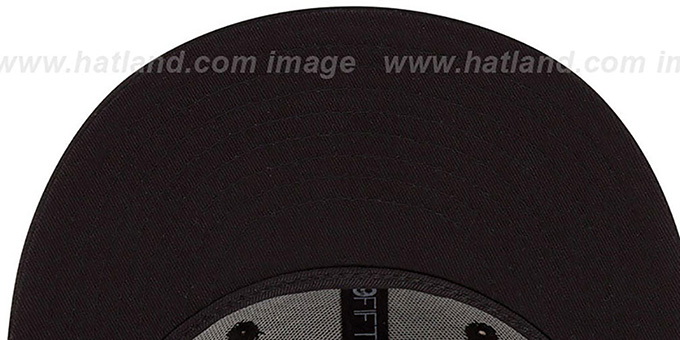 Bengals 'NFL FADEOUT-BASIC' Black Fitted Hat by New Era