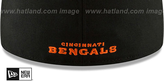 Bengals 'NFL TEAM-BASIC' Black Fitted Hat by New Era