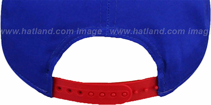 Bills 'SNAP-IT-BACK SNAPBACK' Royal-Red Hat by New Era