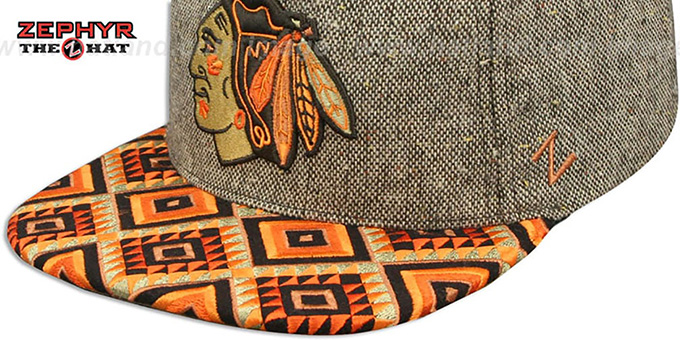 Blackhawks 'DREAM CATCHER SNAPBACK' Hat by Zephyr