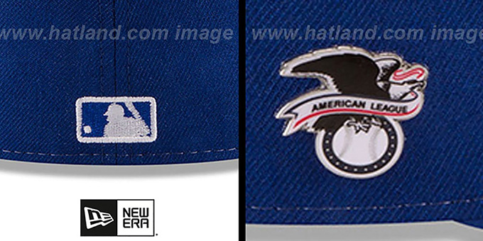 Blue Jays 'AL EAST HERITAGE PIN' Fitted Hat by New Era