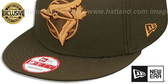 d7a4c3b665e ... Blue Jays COOP  TEAM-BASIC SNAPBACK  Brown-Wheat Hat by New Era