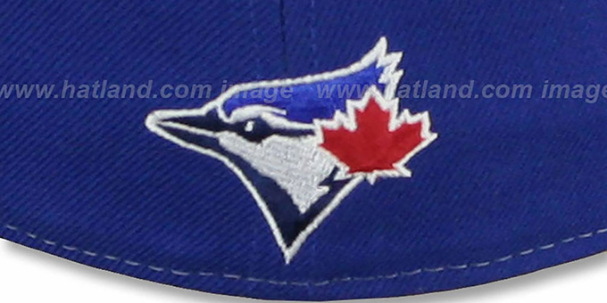 Blue Jays 'SCRIPT-PUNCH' Royal-Grey Fitted Hat by New Era