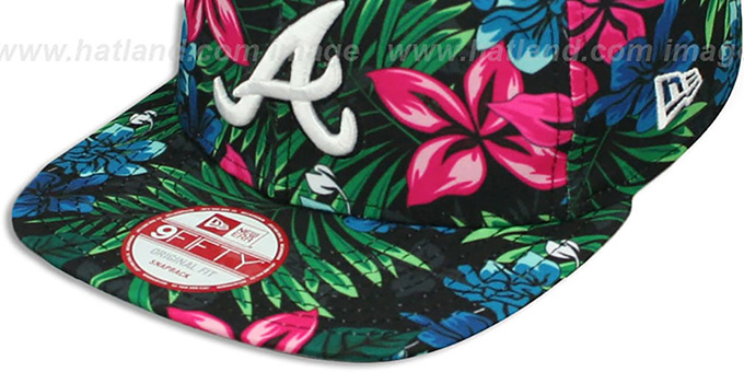 Braves 'AMAZON BLOOM SNAPBACK' Hat by New Era