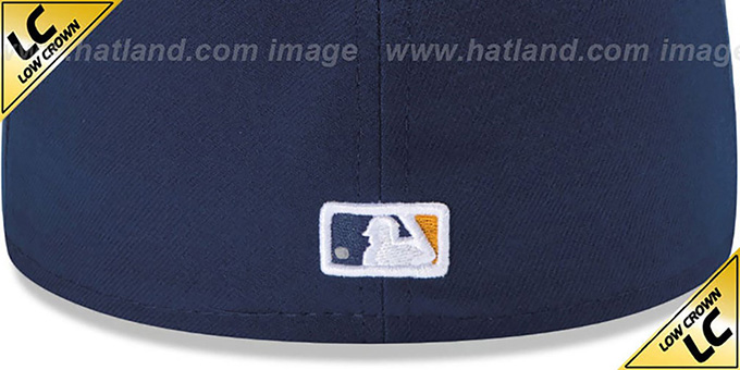Brewers 'LOW-CROWN' ALTERNATE2 Fitted Hat by New Era