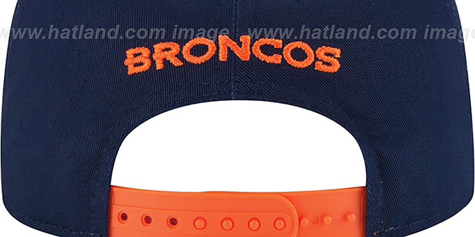 Broncos '2015 NFL DRAFT SNAPBACK' Navy Hat by New Era