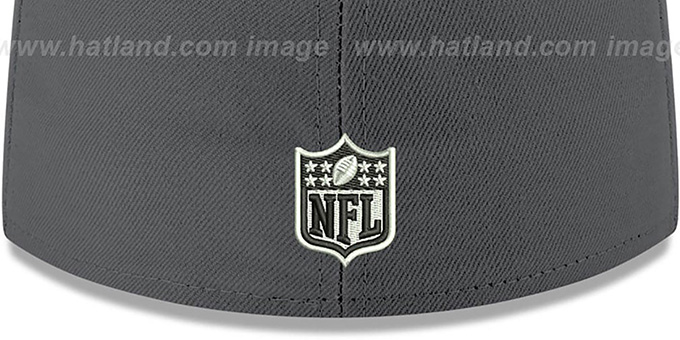Broncos 'SHADER MELT-2' Grey-Orange Fitted Hat by New Era