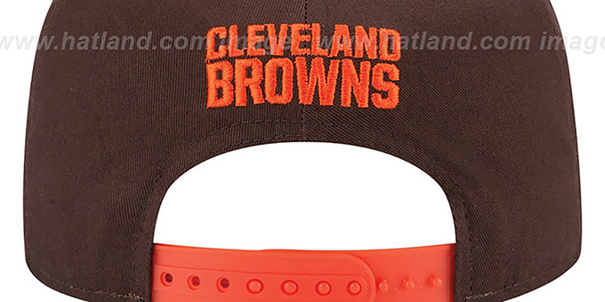 Browns '2015 NFL DRAFT SNAPBACK' Brown Hat by New Era