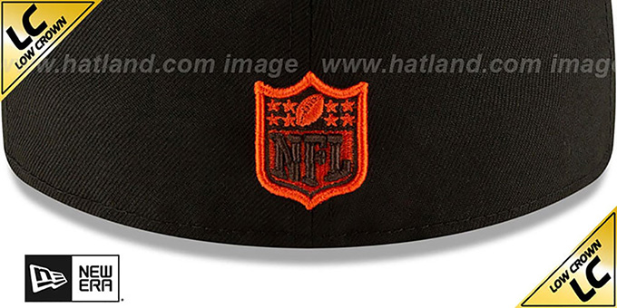 Browns 'LOW-CROWN ALT 2020 NFL VIRTUAL DRAFT' Black Fitted Hat by New Era