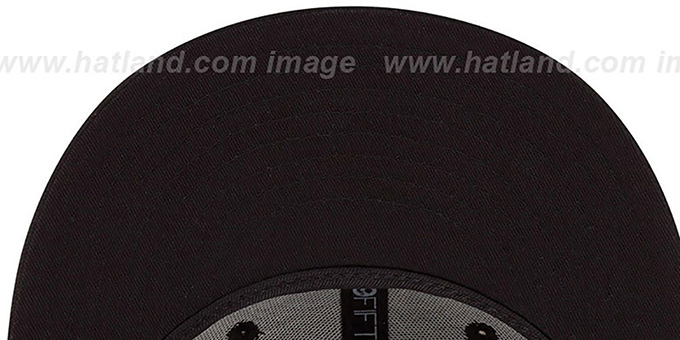 Browns 'NFL FADEOUT-BASIC' Black Fitted Hat by New Era