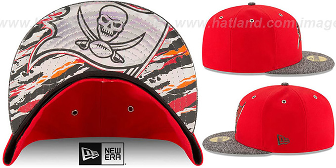 Tampa Bay Buccaneers 2016 NFL DRAFT Fitted Hat by New Era 1df1e7f0da5