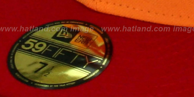 d65840eed30 ... Buccaneers  NFL 2T THROWBACK TEAM-BASIC  Orange-Red Fitted Hat by New