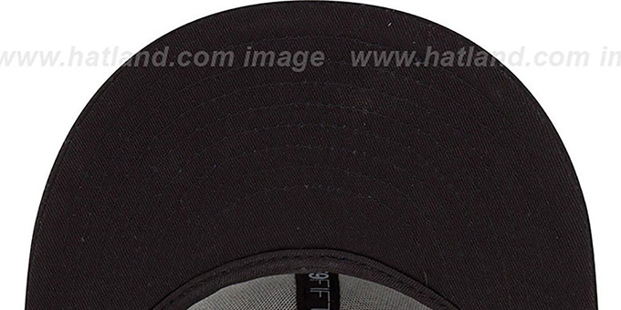 Bulls 'HWC FADEOUT-BASIC' Black Fitted Hat by New Era