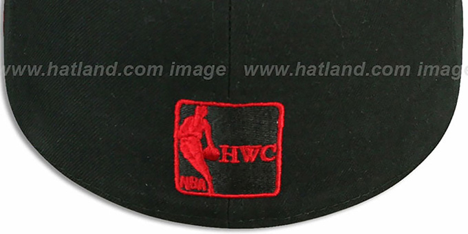 Bulls 'HWC WRAP-IT-UP' Black Fitted Hat by New Era