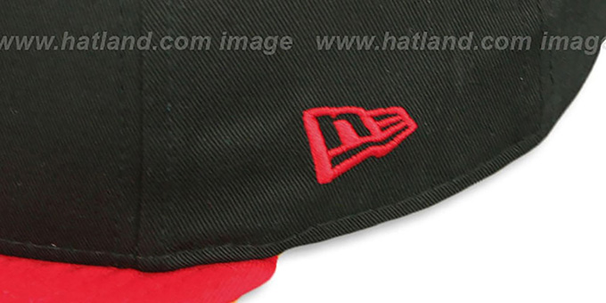 Bulls 'RALLYMARK SNAPBACK' Black-Red Hat by New Era