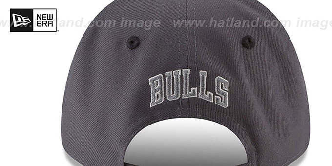 Bulls 'THE-LEAGUE GREY-POP STRAPBACK' Hat by New Era