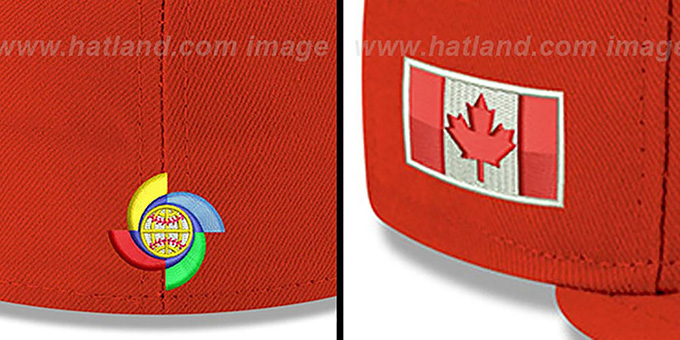 Canada 'PERFORMANCE WBC-2' Red Hat by New Era