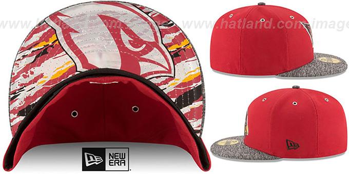c585f7ee013dc2 ... ireland arizona cardinals 2016 nfl draft fitted hat by new era 64450  edb0e