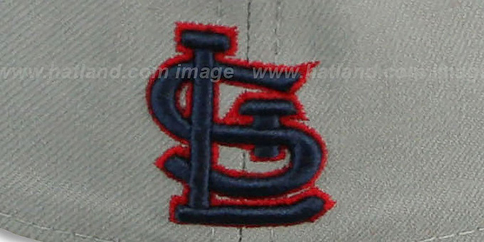 Cardinals 'TEAM-PRIDE' Grey-Red Fitted Hat by New Era