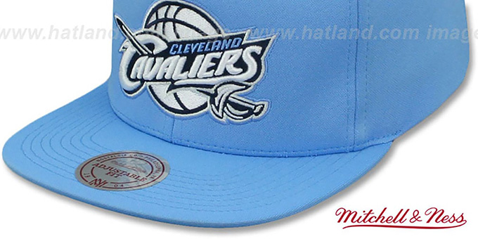 Cavaliers FOAM 'POWDER SNAPBACK' Hat Mitchell and Ness