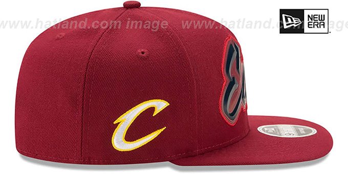 Cavaliers 'NBA ALL-STAR CONFERENCE BEVEL SNAPBACK' Hat by New Era