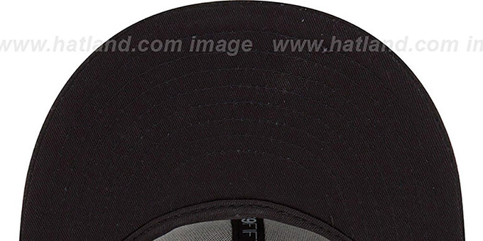 Celtics 'HWC FADEOUT-BASIC' Black Fitted Hat by New Era