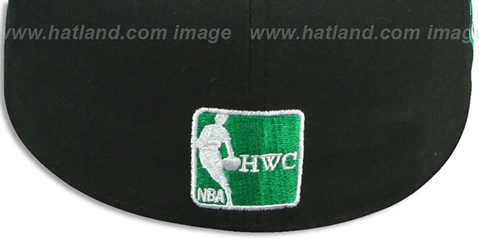 Celtics 'SIDE TEAM-PATCH' Black Fitted Hat by New Era
