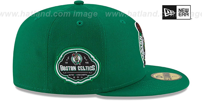 Celtics 'TEAM-SUPERB' Green Fitted Hat by New Era
