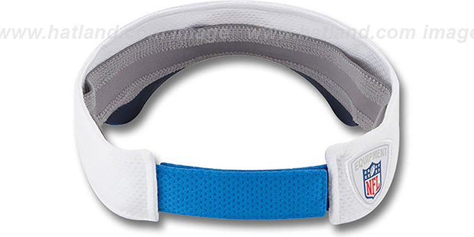 Chargers '2014 NFL TRAINING' White Visor by New Era