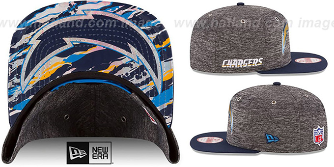 Chargers '2016 NFL DRAFT SNAPBACK' Hat by New Era