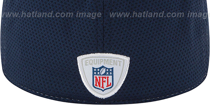 Cowboys '2014 NFL TRAINING FLEX' White Hat by New Era