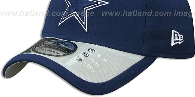 Cowboys '2015 NFL STADIUM FLEX' Navy-Grey Hat by New Era