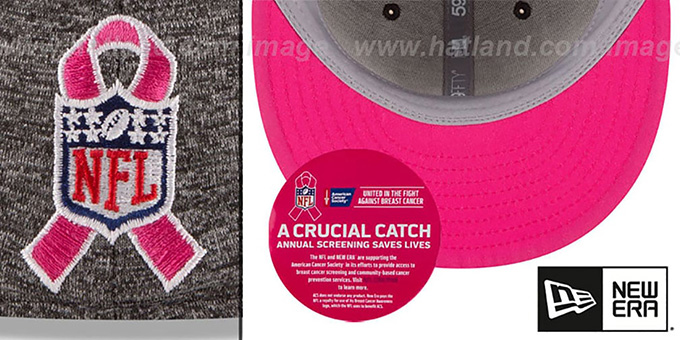 Cowboys '2016 HIGH-CROWN BCA' Grey Fitted Hat by New Era