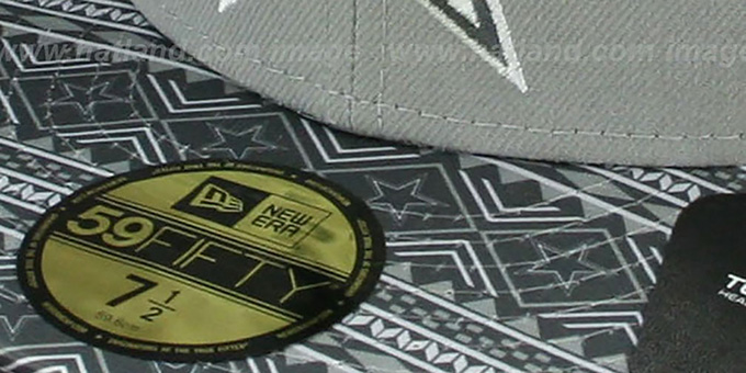 Cowboys 'FAIR ISLE FLIP' Grey Fitted Hat by New Era