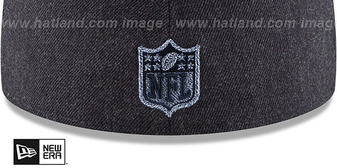 Cowboys 'HEATHER TWISTED FRAME' Navy Fitted Hat by New Era