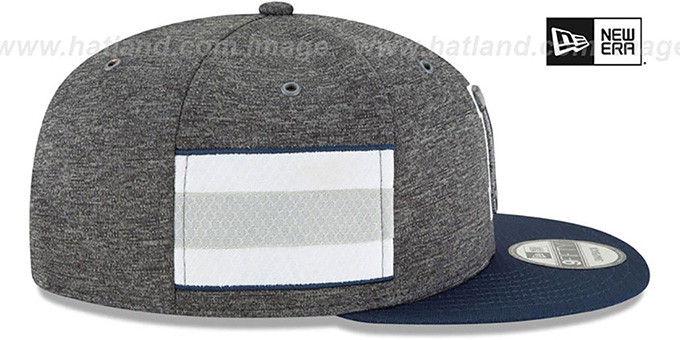 Cowboys 'HOME ONFIELD STADIUM SNAPBACK' Grey-Navy Hat by New Era