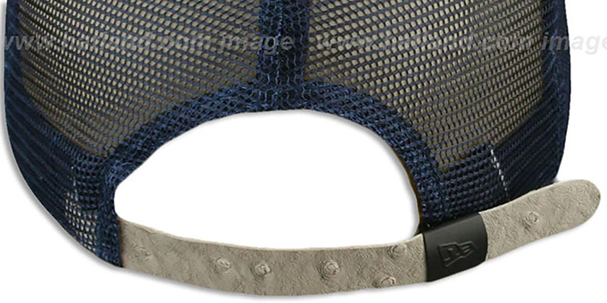 Cowboys 'OSTRAVIZE-MESH STRAPBACK' Navy-Grey Hat by New Era