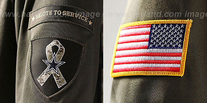 f2a870cc339 Dallas Cowboys ROMO SALUTE TO SERVICE Jersey by Nike