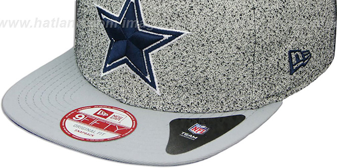 separation shoes e5a5d 9fbe3 Dallas Cowboys SPECKLED SNAPBACK Grey-grey Hat by New Era