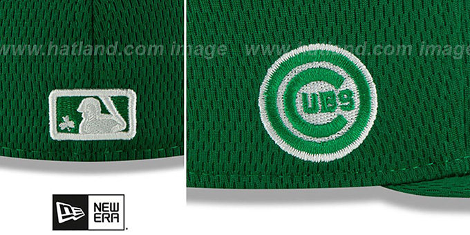 Cubs 2020 'ST PATRICKS DAY' Fitted Hat by New Era